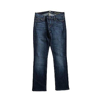 Calça SEVEN Feminina Jeans Escuro