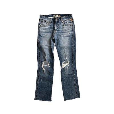 Calça KHELF Feminina Jeans Destroyed