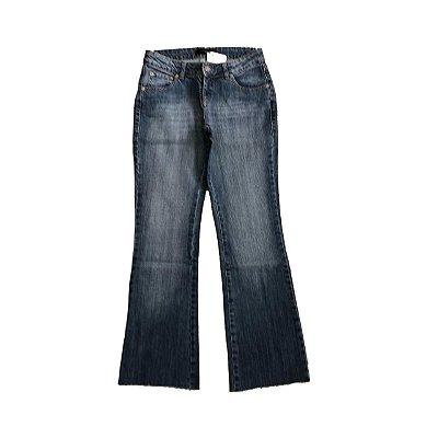Calça LE LIS BLANC Jeans com Detalhe Marrom no Bolso Traseiro