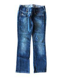 Calça DIESEL Feminina Jeans Escura com 3 Botões