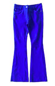 Calça MORINA Azul Royal Flare