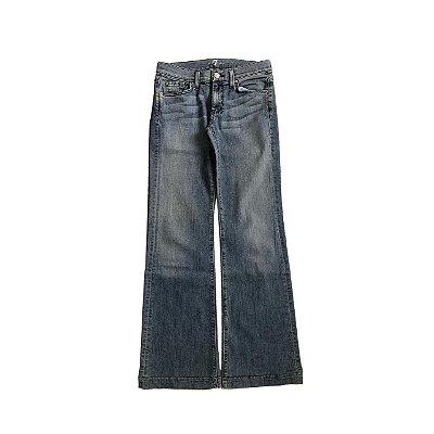 Calça SEVEN Jeans Clara Bolso Traseiro Bordado