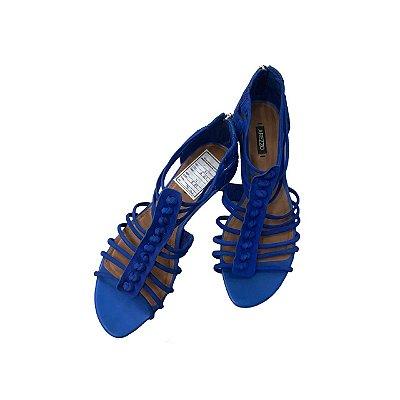 Sandália AREZZO Azul Royal