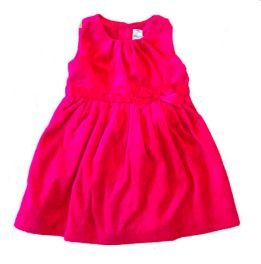 Vestido CARTER'S Infantil Vermelho Fleece