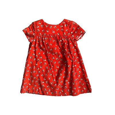 Vestido baby GAP Laranja em Veludo