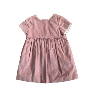 Vestido ZARA Infantil Rosê com Brilho
