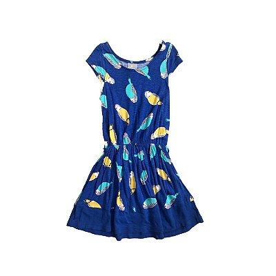Vestido HERING Azul Piriquitos