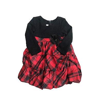 Vestido BONNIE BABY Vermelho e Preto
