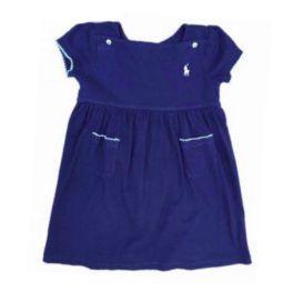 Vestido RALPH LAUREN Azul Marinho em Malha