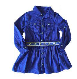 Vestido RALPH LAUREN Azul Marinho com Cinto