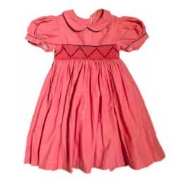 Vestido Infantil Rosê Casa de Abelha
