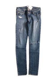 Calça ABERCROMBIE KIDS Jeans Clara Destroyed