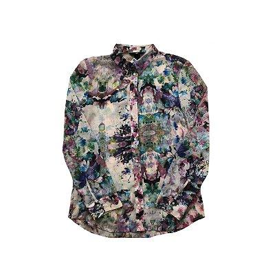 Camisa H&M Estampada