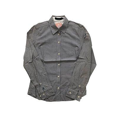 Camisa CORI Cinzas Listras