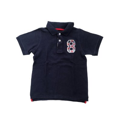 Camiseta Polo CARTER'S Azul Marinho 8 (Novinha)