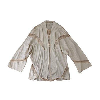 Kimono CRIS BARROS Creme