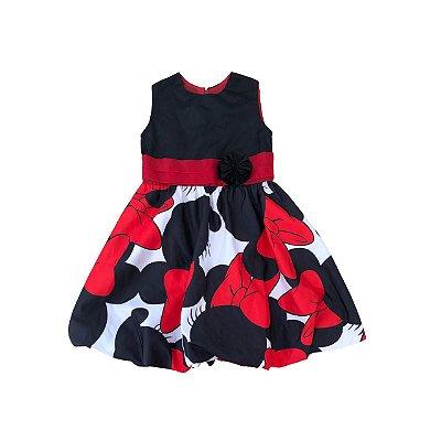 Vestido Minnie Preto