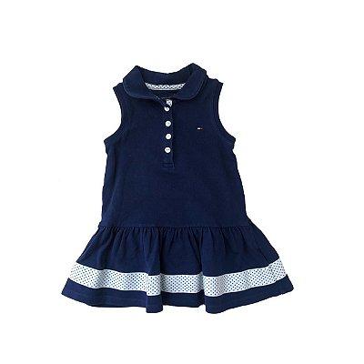Vestido TOMMY HILFINGER Azul Marinho