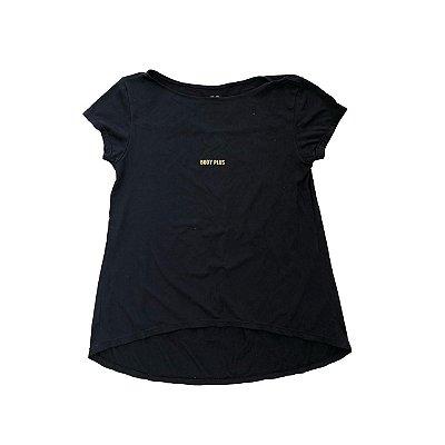 Camiseta BODY PLUS Preta