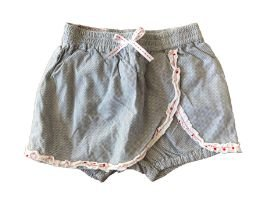 Shorts CHICCO Preto e Branco Listrado