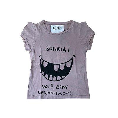 Camiseta SPIRODIRO Nude Sorria!