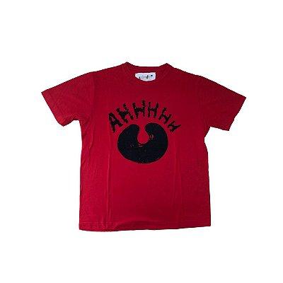 Camiseta SPIRODIRO Vermelha AHHHHH