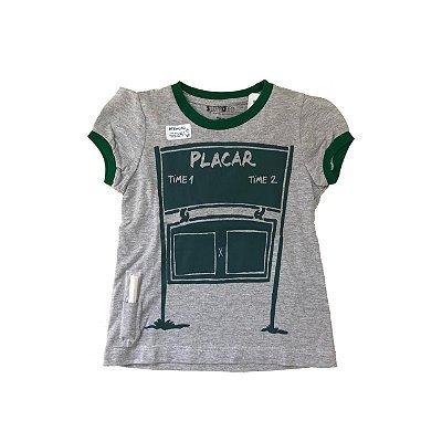 Camiseta SPIRODIRO Cinza Placar