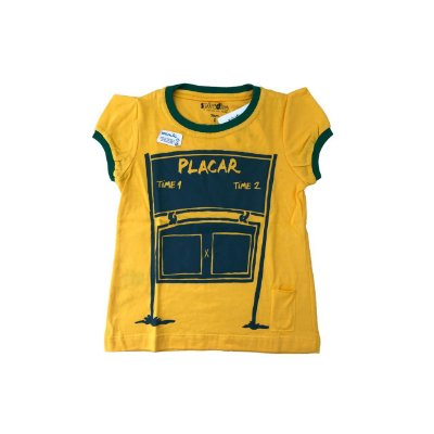 Camiseta SPIRODIRO Amarela Placar