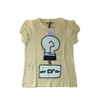 Camiseta SIRODIRO Amarela OFF ON