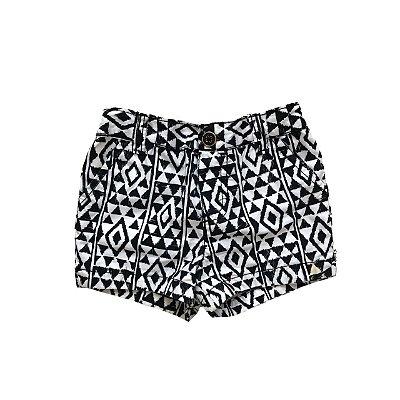 Shorts CARTER'S Preto e Branco