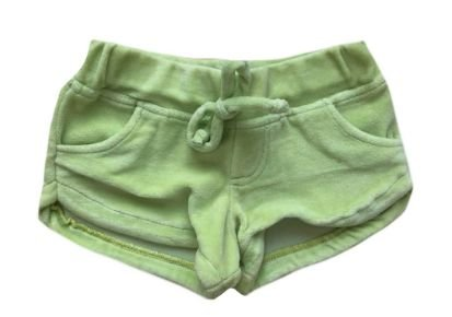 Shorts MINI VIDA Infantil Verde em Plush