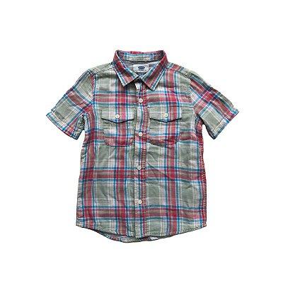 Camisa OLD NAVY Infantil Xadrez