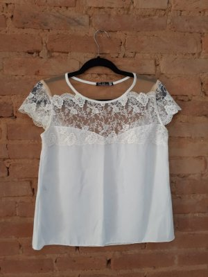 Blusa SUBLINI Off White com Renda