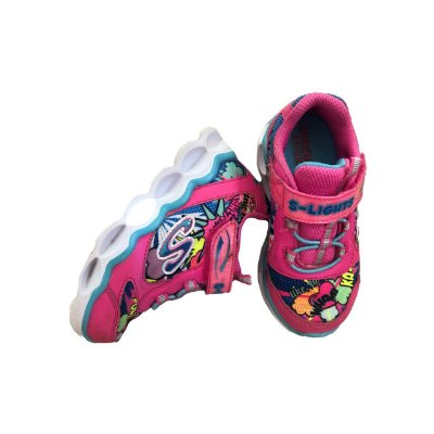 Tênis SKECHERS Infantil Pink S - Lights