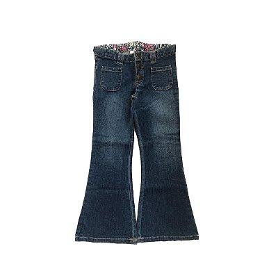 Calça Jeans CARTER'S Infantil com Stretch Flare