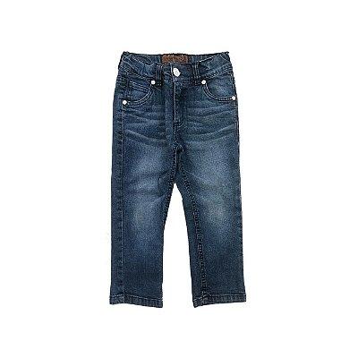 Calça Jeans TIGOR Botão Branco