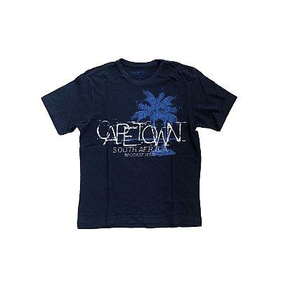 Camiseta BROOKSFIELD Infantil Marinho Capetown