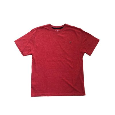 Camiseta TOMMY HILFIGER Infantil Vermelha Lisa