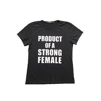 Camiseta AMARO Feminina Preta
