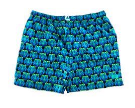 Shorts L'ÉTÉ Verde, Azul e Preto Tigre