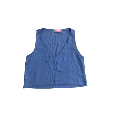 Cropped FULLMOON Feminino Azul
