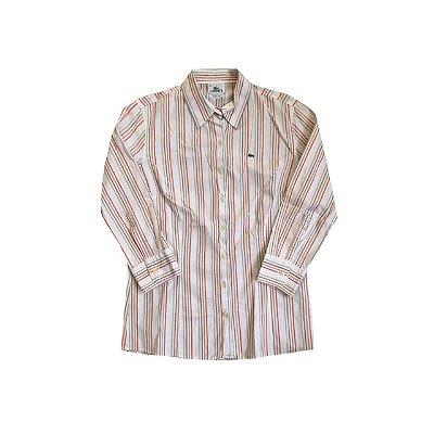 Camisa LACOSTE Feminina Listrada