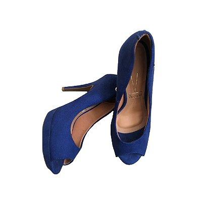 Peep Toe VIZZANO Feminino Azul