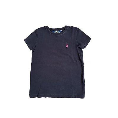 Camiseta RALPH LAUREN Infantil Preta
