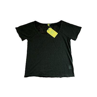 Camiseta Farm Verde Militar com Etiqueta