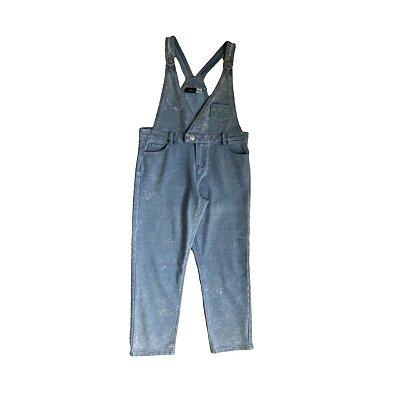 Jardineira CHICCO Infantil Jeans Molinho Estonado