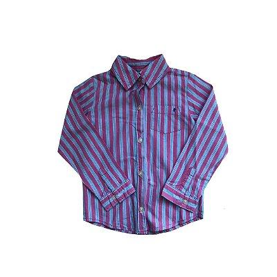 Camisa CARTER'S Infantil Rosa Listrada