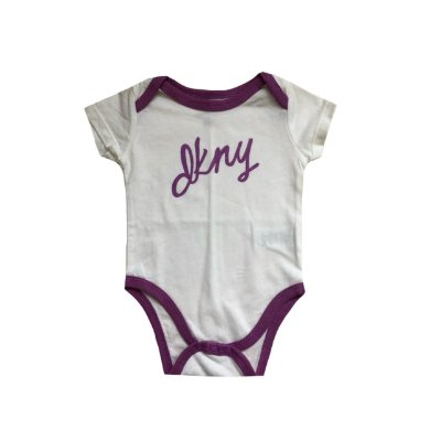 Bodie DKNY Infantil Branco e Roxo