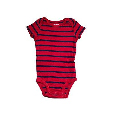 Bodie CARTER'S Infantil Vermelho e Azul Listrado