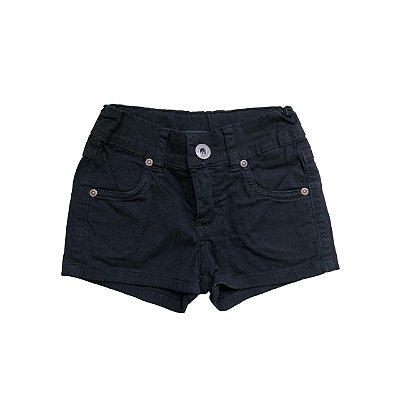 Shorts Jeans MALWEE Infantil Preto